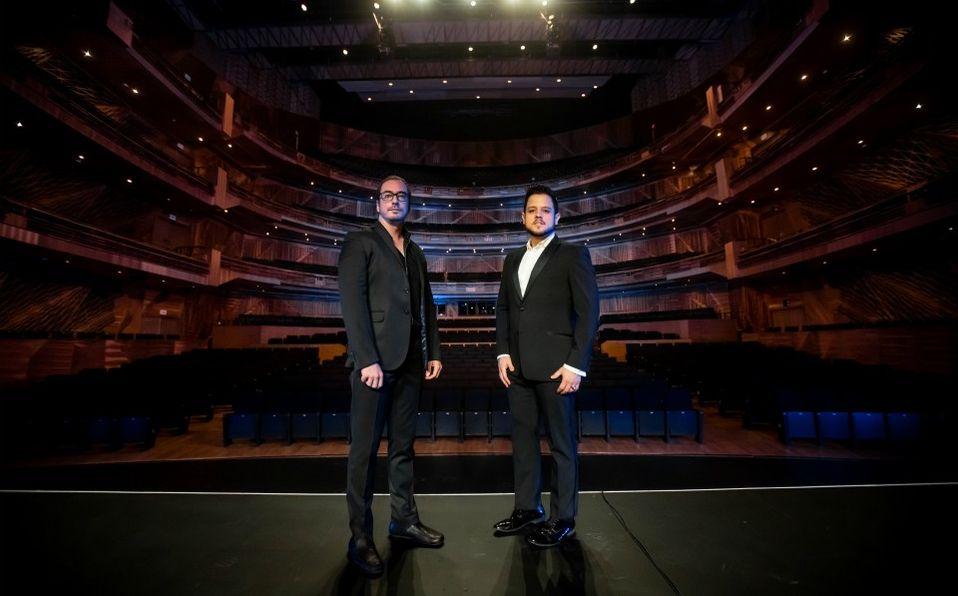 El  tenor César Delgado se acompañará con el pianista Andrés Serra en el recital (Nacion Imago)