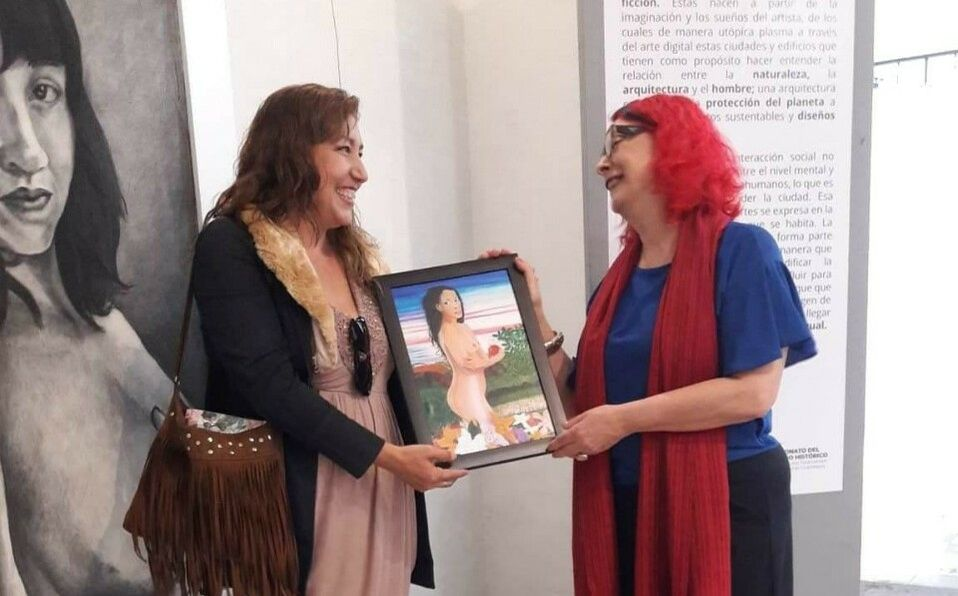 Exposición colectiva Fragmentos de Mujer (Cortesía)