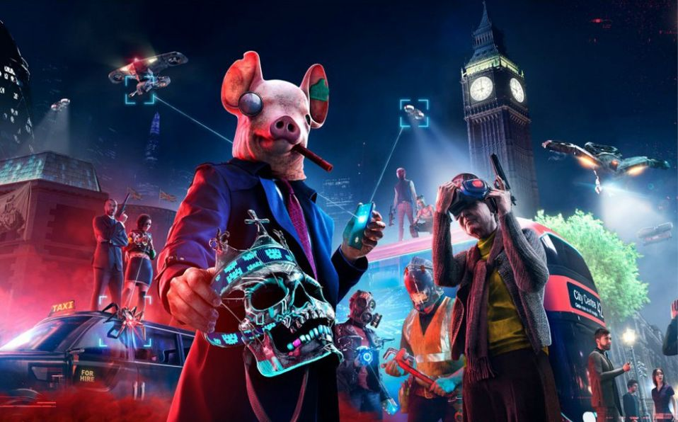 Watch Dogs Legion es uno de los estrenos en las consolas este mes (Ubisoft)